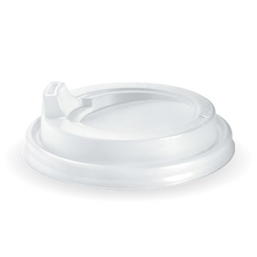 90mm PS White Large Sipper Lid