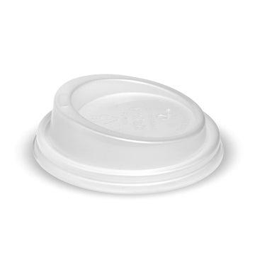 6, 8, 10 & 12(80mm)oz BioCup PLA Small Lid