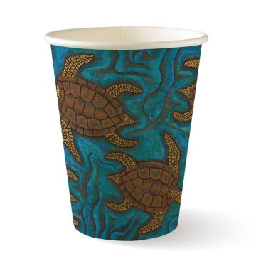 12oz Single Wall Indigenous BioCup