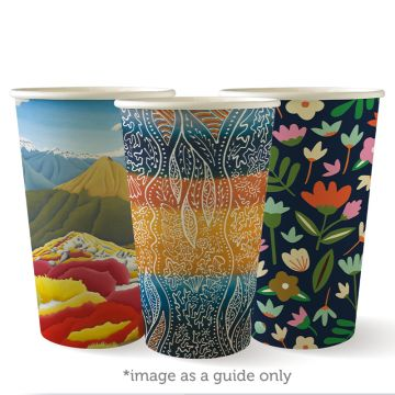 510ml / 16oz (90mm) Art Series Single Wall BioCup