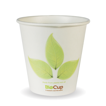 230ml / 6oz (80mm) Leaf Single Wall BioCup