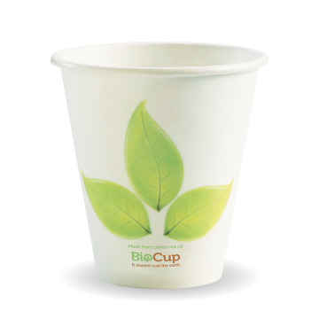 280ml / 8oz (90mm) Leaf Single Wall BioCup