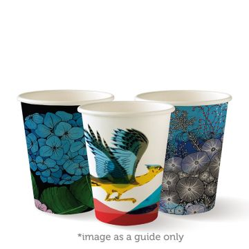 280ml / 8oz (80mm) Art Series Single Wall BioCup