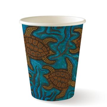 8oz Single Wall Indigenous BioCup