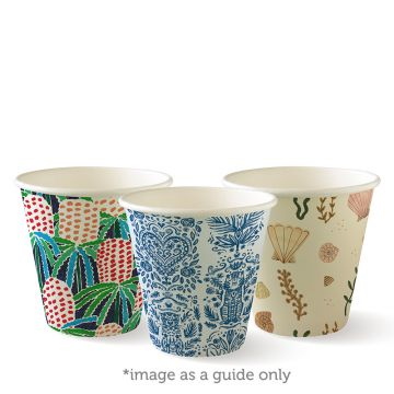 280ml / 8oz (90mm) Art Series Single Wall BioCup