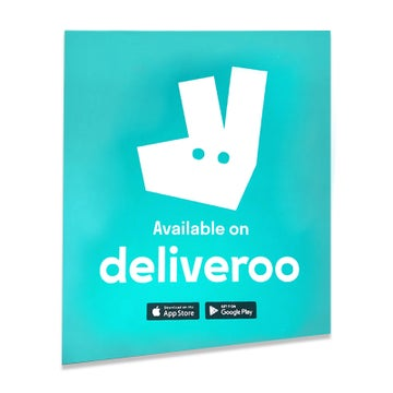 Deliveroo - Window Sticker