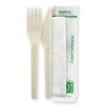 """15cm / 6"""" PSM Knife, Fork & Napkin Set"""